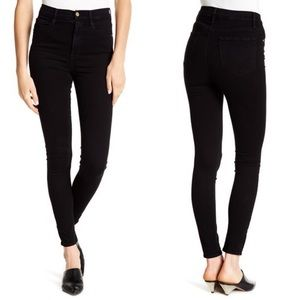 Frame Denim Jeans - • FRAME • Ali High Rise Skinny Jeans Radlock Black